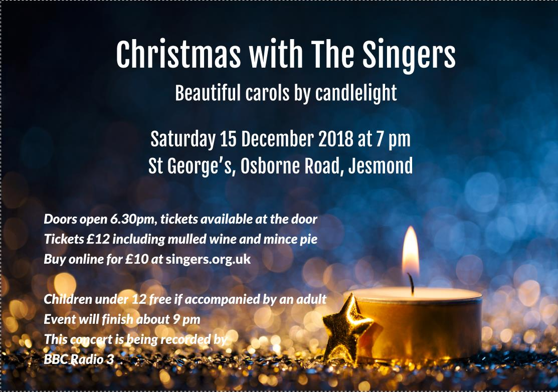 Christmas with The Singers 2018