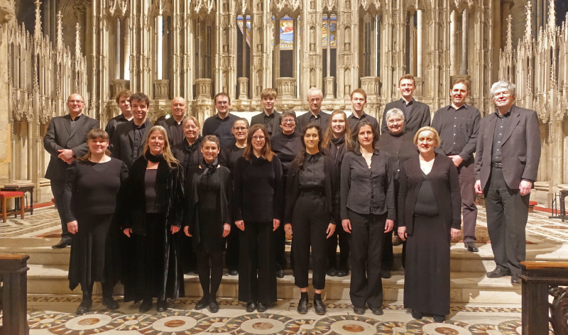 The Singers at Durham Cathedral 2019